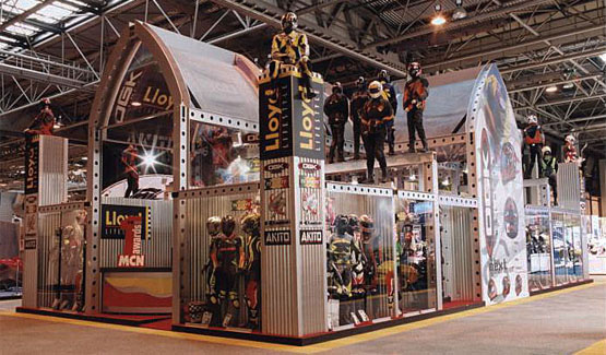 Lloyd Lifestyle exhibition stand