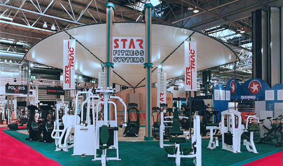 Star Fitness exhibition stand